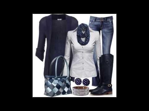 Самые популярные и удачные сочетания одежды