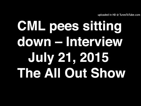 CML Pees Sitting Down -- Interview on SiriusXM's All Out Show