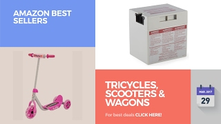 Tricycles, Scooters & Wagons Amazon Best Sellers