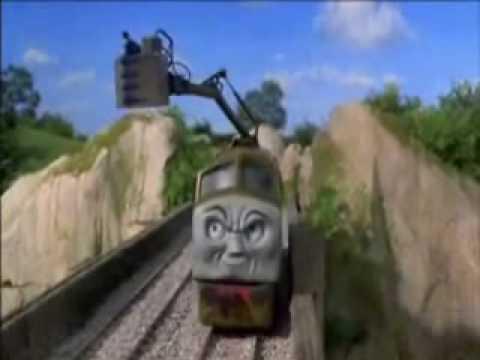 Thomas & the Magic Railroad: DIesel 10 scene