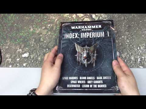 Read-Along: Warhammer 40k 8th Edition - Index Imperium Part 1