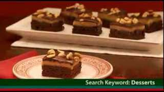 Triple Layer Peanut Butter Brownies