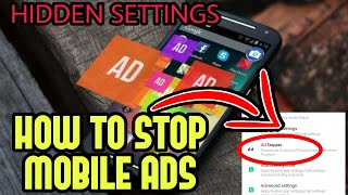 How To Remove Ads Appearing On Mobile | Malayalam Explained By SPINACH MEDIA
