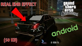 Enb Effect V Kb Gta Sa Android New Enb Effect Cleo Effect Mod