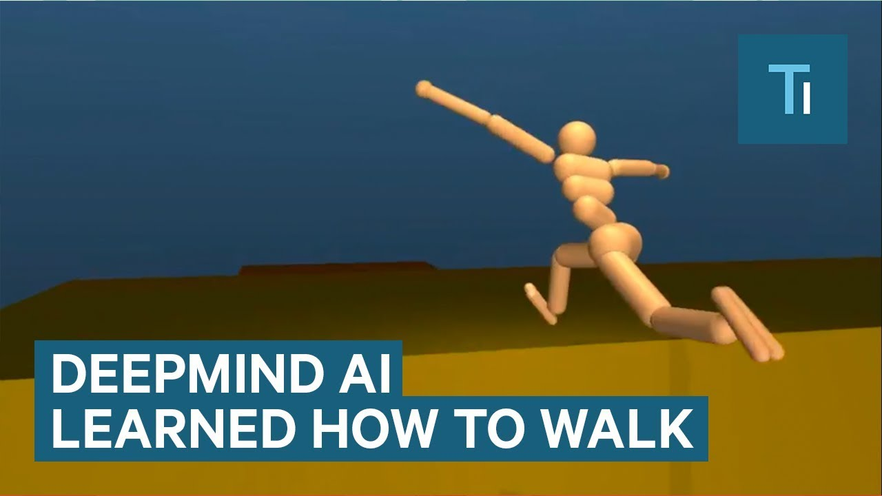 Google's DeepMind AI just taught itself to walk