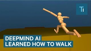 Googles DeepMind AI Just Taught Itself To Walk