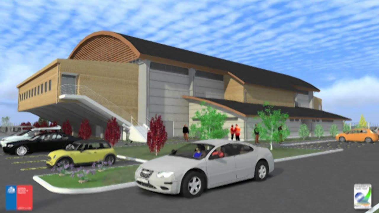 Proyecto centro deportivo alerce maqueta virtual youtube - Proyecto club deportivo ...