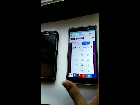 how to make free internet phone calls using Android &ios[hindi] 2016