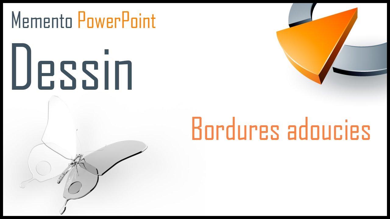 Appliquer Un Effet De Bordure Adoucie à Une Forme Formation Powerpoint Marseille