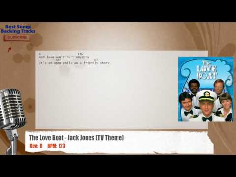 The Love Boat - Jack Jones (TV Theme) Vocal Backing Track with chords and lyrics
