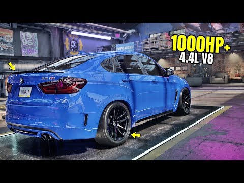 Need for Speed Heat Gameplay - 1000HP+ BMW X6M Customization | Max Build