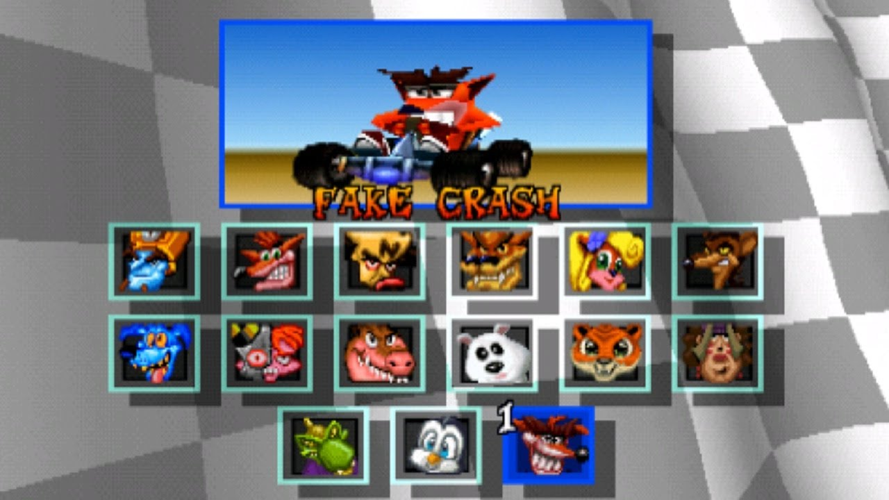 Resultado de imagem para crash team racing ps1