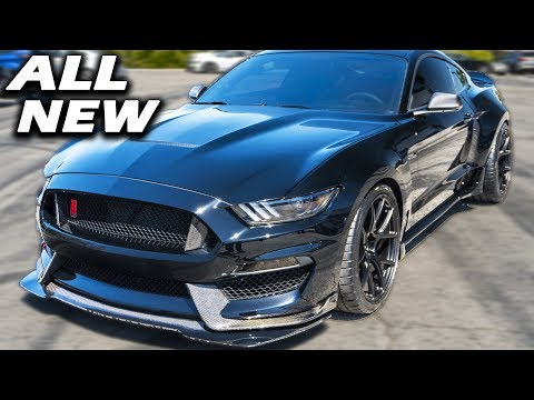 Shelby Unveils  GT WIDE BODY! | GT Super Snake + New Bullitt