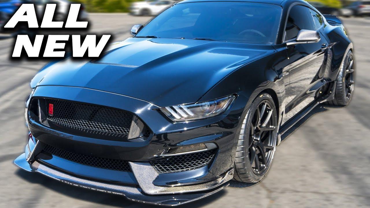 Shelby unveils 2019 gt350 wide body gt500 super snake new bullitt