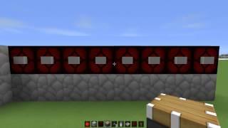 КАК сделать дверь с кодовым замком в minecraft