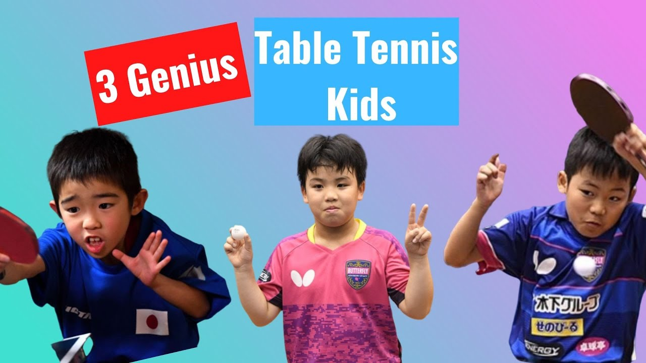Download 3 Genius Table Tennis Kids: Incredible Matches
