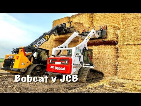 Bobcat v JCB Teleskid