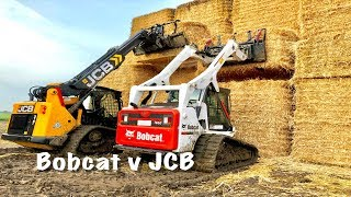 Download Bobcat v JCB Teleskid Mp3 and Videos