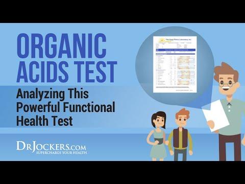 Functional Diagnostic Nutrition Organic Acid Test