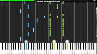 Hiiro No Kakera 2 ED - Takaramono - Synthesia (Piano)(EgOistHiuMan)