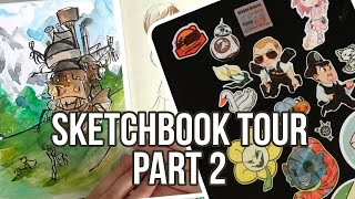☆☆ SKETCHBOOK TOUR ☆☆ PART 2☆☆