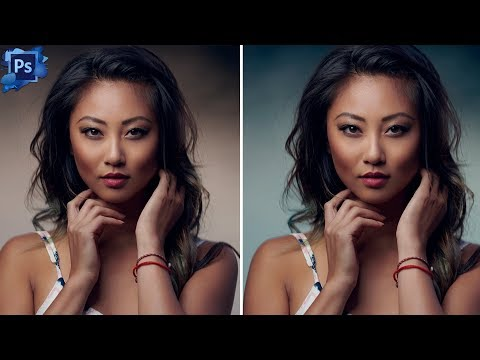 PHOTOSHOP TUTORIAL How To QUICKLY Change BACKGROUND COLOUR In Photoshop thumbnail