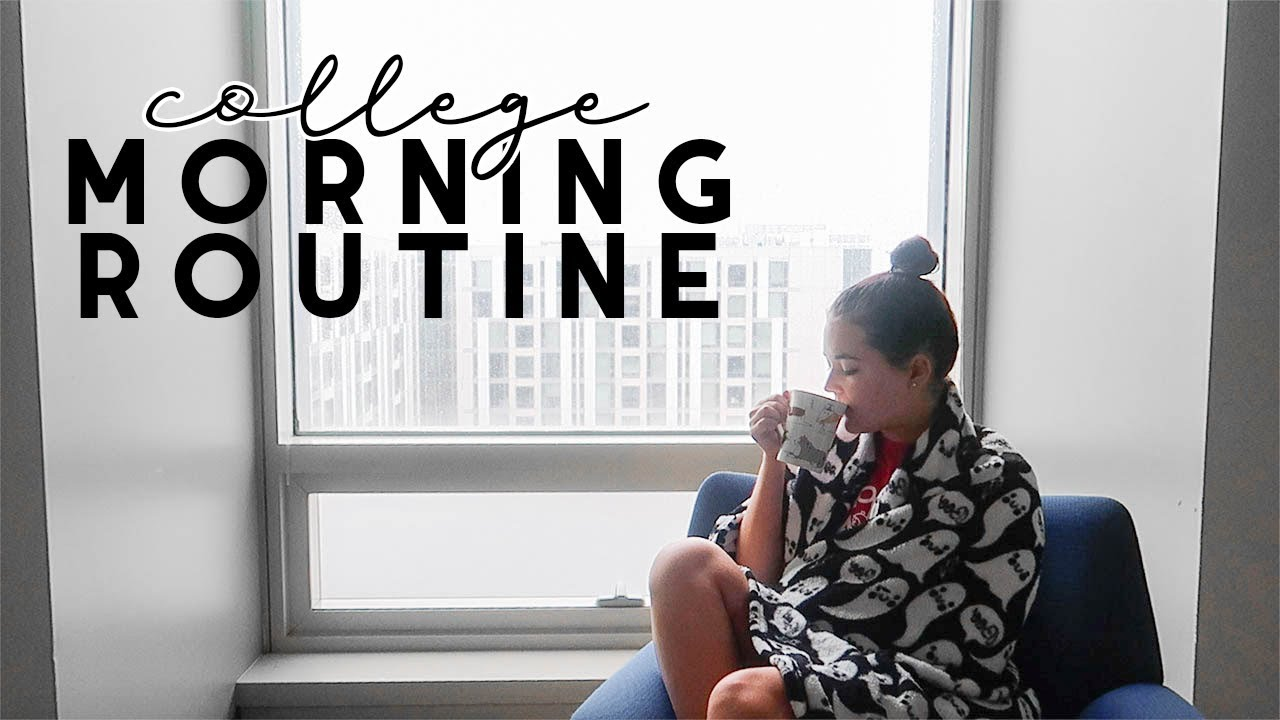 COLLEGE MORNING ROUTINE (wake up with me) | Reese Regan