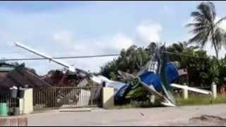Pesawat terhempas di Kudat pada 10 Okt 2013