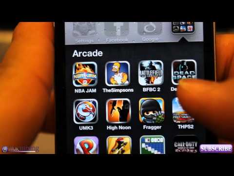 iOS 6 / iOS 5 - New Features / Tips - Top Ten Game Apps - Dom