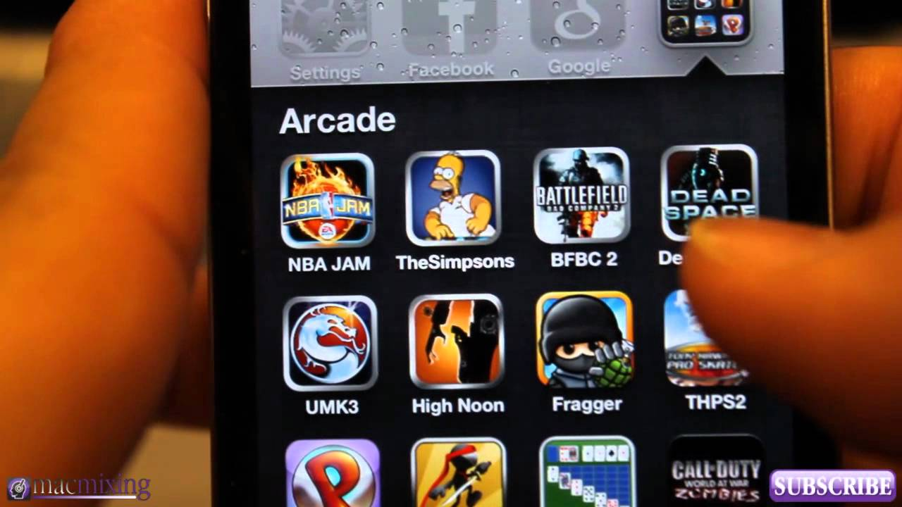 top 10 games on app store