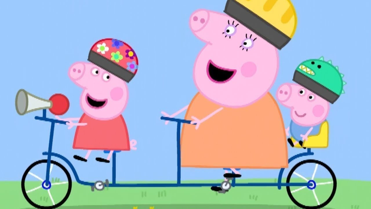 Peppa Pig English Episodes | Peppa Pig's Day Out with ...