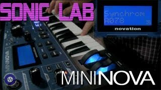 Novation Mininova Synthesizer - Sonic LAB review