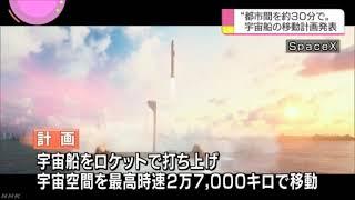 [アストラックス]スペースXスターシップ#2(NHKニュース)