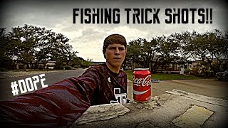 Fishing TRICK SHOTS Challenge! | TylersReelFishing