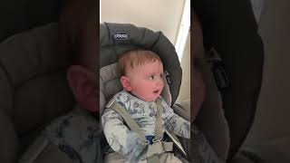 Adorable funny baby. My crazy family part 2