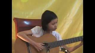 Quê Em Miền Trung Du - Guitar Solo