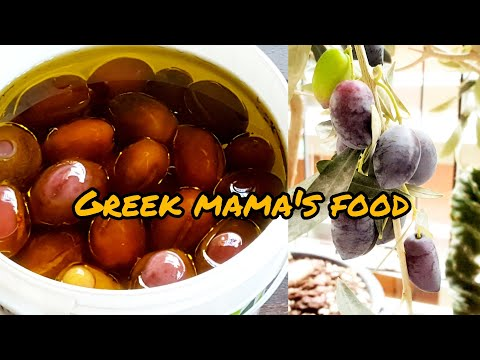 How To Make Homemade Olives In Brine😊