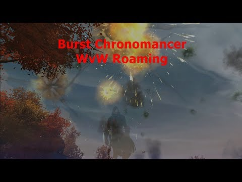 GW2 WvW Power Mesmer/ Chronomancer Roaming Montage - Mist War