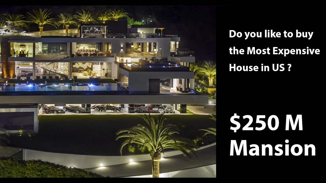 most expensive house in us | $250m mansion - youtube