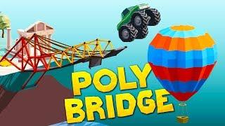 - Building Impossible Bridges For Monster Trucks In Poly Bridge