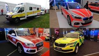 RETTmobil 2017 in Fulda | Einsatzfahrzeuge - Vorführungen - Rundgang - Abschlusskonvoi