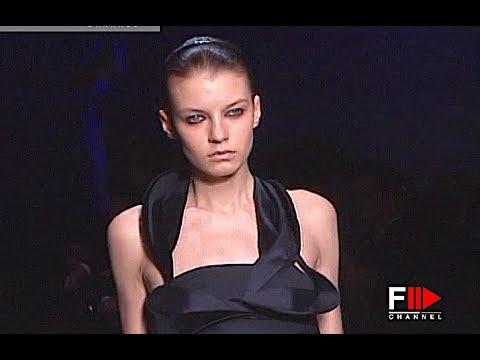 ENNIO CAPASA COSTUME NATIONAL Full Show Autumn Winter 2008 2009 Paris - Fashion Channel