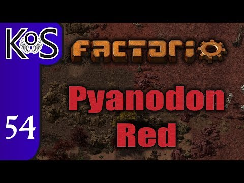 Factorio Pyanodon Red Ep 54: FACTORY SMALL SHOPS - 0.16 - Gameplay, Let's Play
