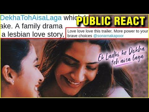 PUBLIC REACTION On Ek Ladki Ko Dekha Toh Aisa Laga Trailer | Sonam Kapoor, Anil Kapoor, Rajkummar