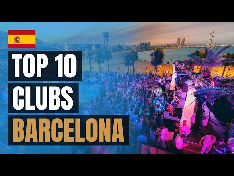 Top 10 Night Clubs In Barcelona (2020)