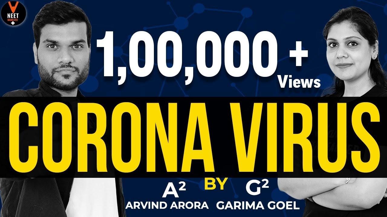 Coronavirus Details in Hindi | Signs and Symptoms of Coronavirus | Garima Ma'am & Arvind Arora