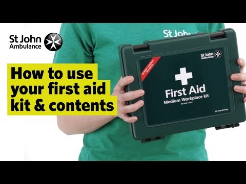 How to Use your First Aid Kit & Contents - First Aid Training - St John Ambulance