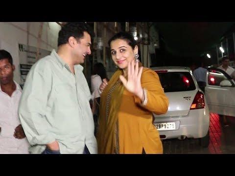 Vidya Balan On A Movie Date With Husband Siddharth Roy Kapur