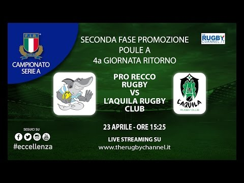 Pro Recco Rugby vs L'Aquila Rugby Club