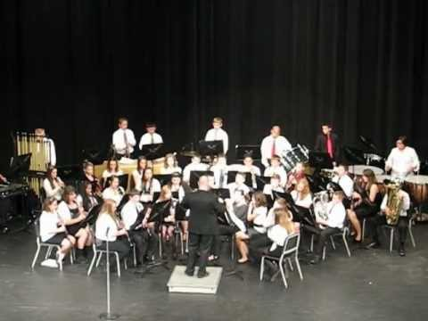 8th grade Perry Middle School band
